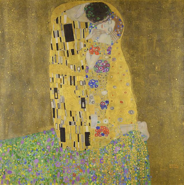 接吻 1908年 クリムト、官能と黄金の画家とは?クリムトの見ておきたい絵画14選【a】