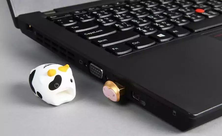 Kingston Limited-Edition Mini Cow USB Drives