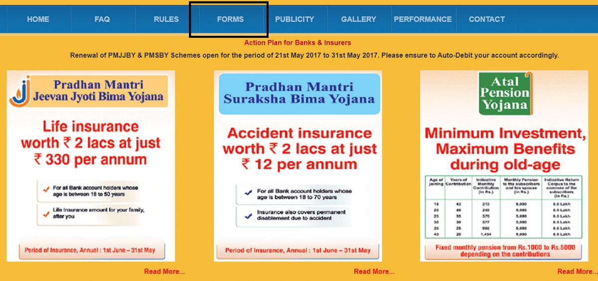 [लागू करें] प्रधानमंत्री सुरक्षा बीमा योजना (PMSBY) फॉर्म २०२१ पीडीएफ डाउनलोड ऑनलाइन [Apply] PM Suraksha Bima Yojana (PMSBY) Form 2021 PDF Download Online
