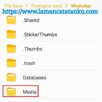 memindahkan file media whatsapp ke memori eksternal untuk mengatasi penyimpanan internal penuh