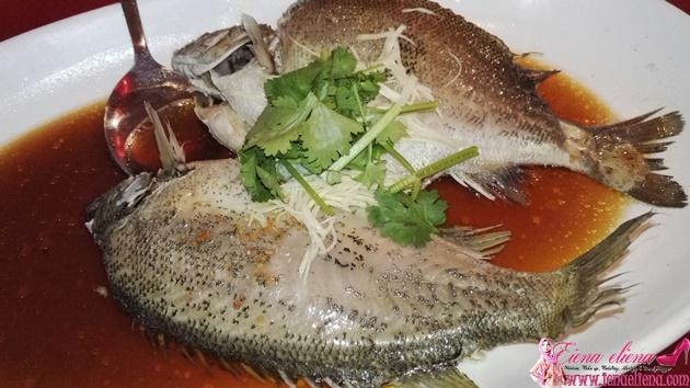 CNY DINNER AT SPRING GARDEN KLCC - Lou Sang