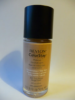 Revlon ColorStay Makeup with Combination/Oily Skin, Revlon, cera tłusta, cera mieszana, podkład do cery tłustej i mieszanej, dobre krycie, Revlon Color Stay, kolor true beige nr 320