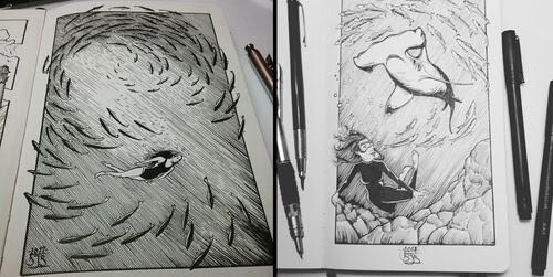 00-Ink-Illustrations-Danny-Banks-www-designstack-co