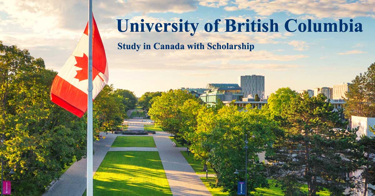 International Leader of Tomorrow (ILOT) Undergraduate Scholarships 2021/2022 at University of British Columbia