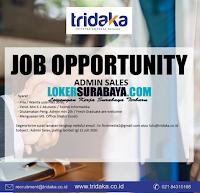 Job Opportunity at Tridaka: Triputra Anargya Dakara Surabaya Juli 2020