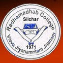 Radhamadhab College Silchar Recruitment 2019