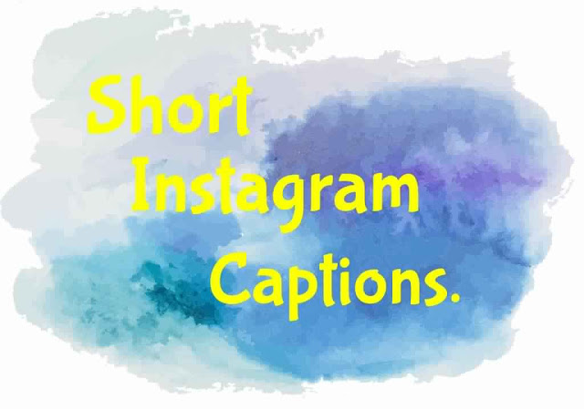 Short Instagram captions for photos