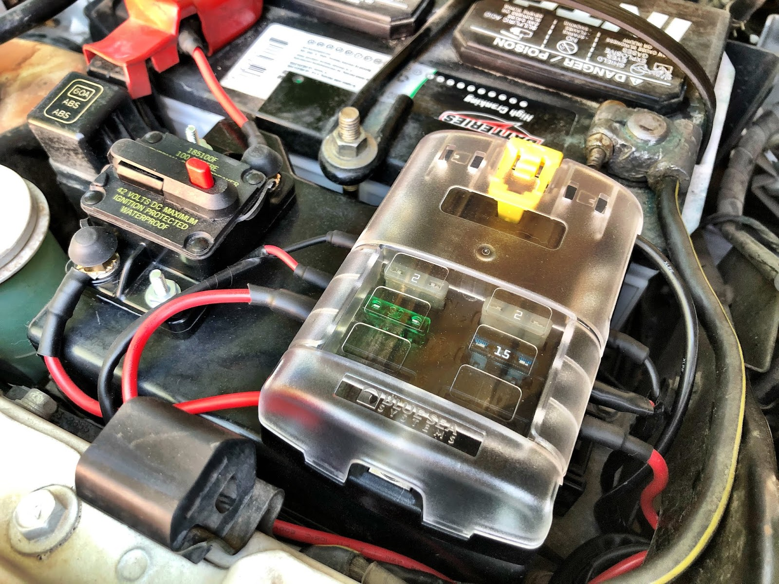 Blue Sea Fuse Box Troubleshooting Trusted Wiring Diagram Fj Cruiser Auxiliary Lights Lighting 1970 Toyota Block