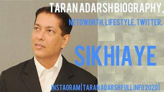 Taran Adarsh Biography, Netoworth, Lifestyle, Twitter, Instagram   Taran Adarsh Full Info 2020  