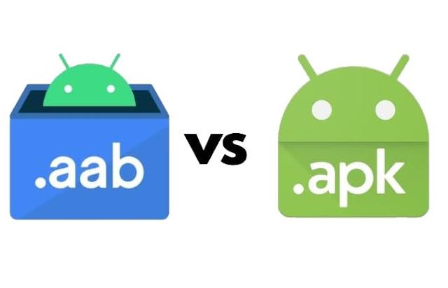 ما هي صيغة AAB الأندرويد الجديدة وما هو الفرق بين ملفات APK متجر جوجل بلاي