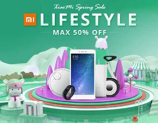 GearBest Xiaomi Spring Sale