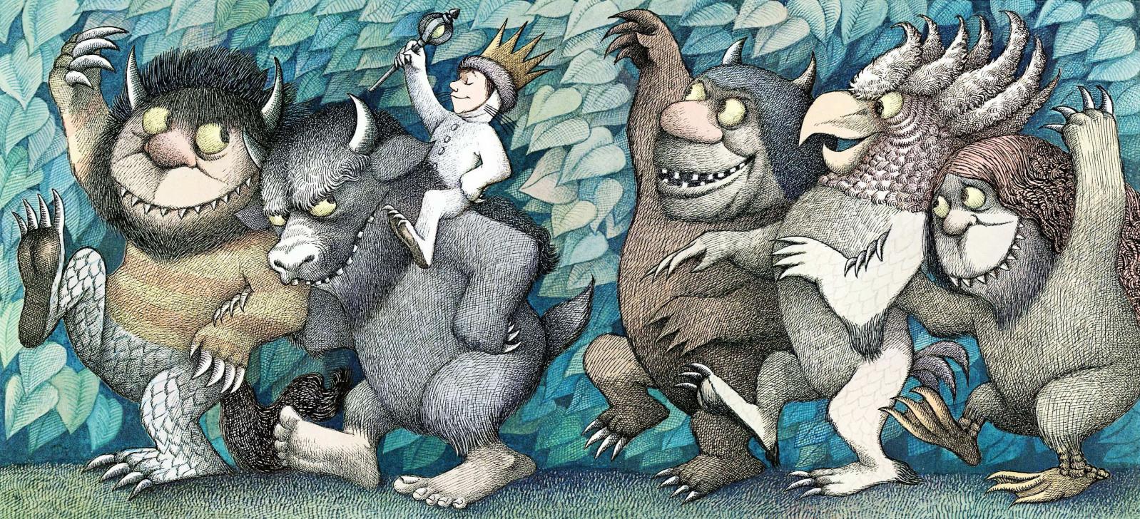 * Where The Wild Things Are 作者Maurice Sendak逝世:回野獸國當國王了! 1
