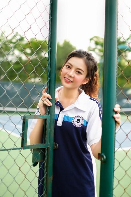 Đồng phục thể dục trường ĐH Ngân Hàng