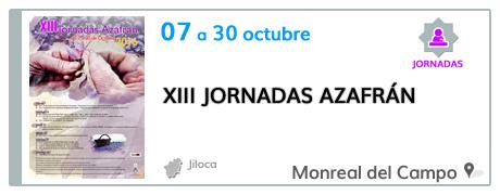 XIII Jornadas del Azafrán en Monreal del Campo