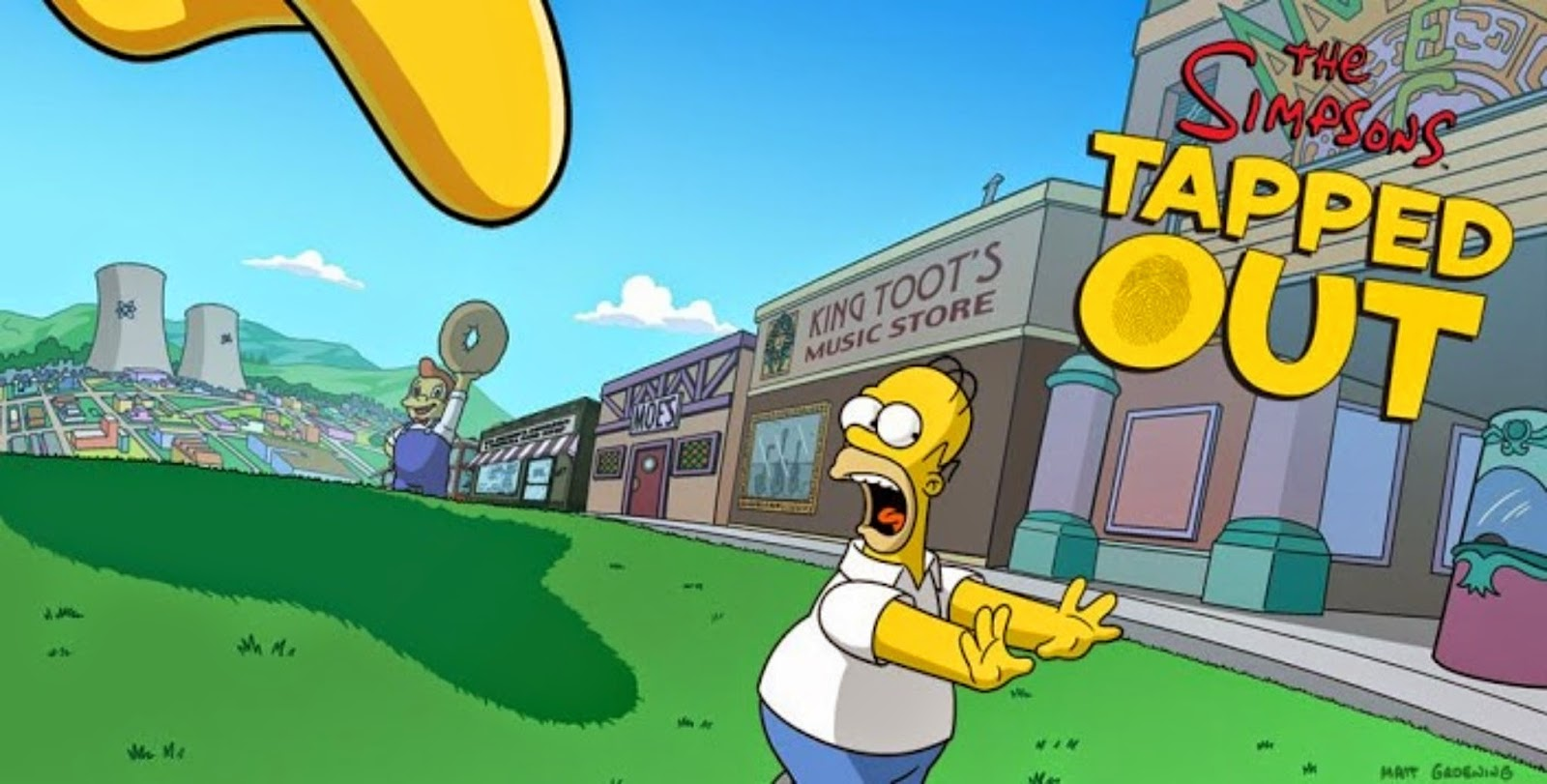 The Simpsons Tapped Out (TSTO) Mod Apk Android
