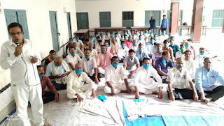 जदयु कार्यकर्ताओं ने अपने हीं दल के विधायक निरंजन कुमार मेहता के खिलाफ फुँका बगावत का बिगुल