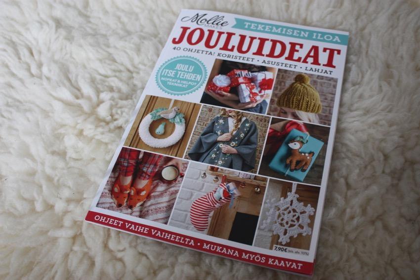 suomenkielinen Mollie Makes joulunumero