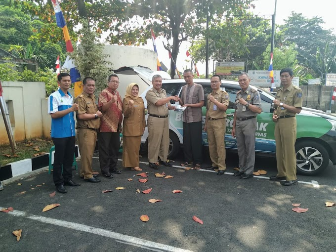 Kapus Samsat Depok Kunjungi Camat Tapos