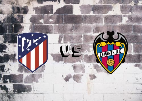 Atlético Madrid vs Levante  Resumen