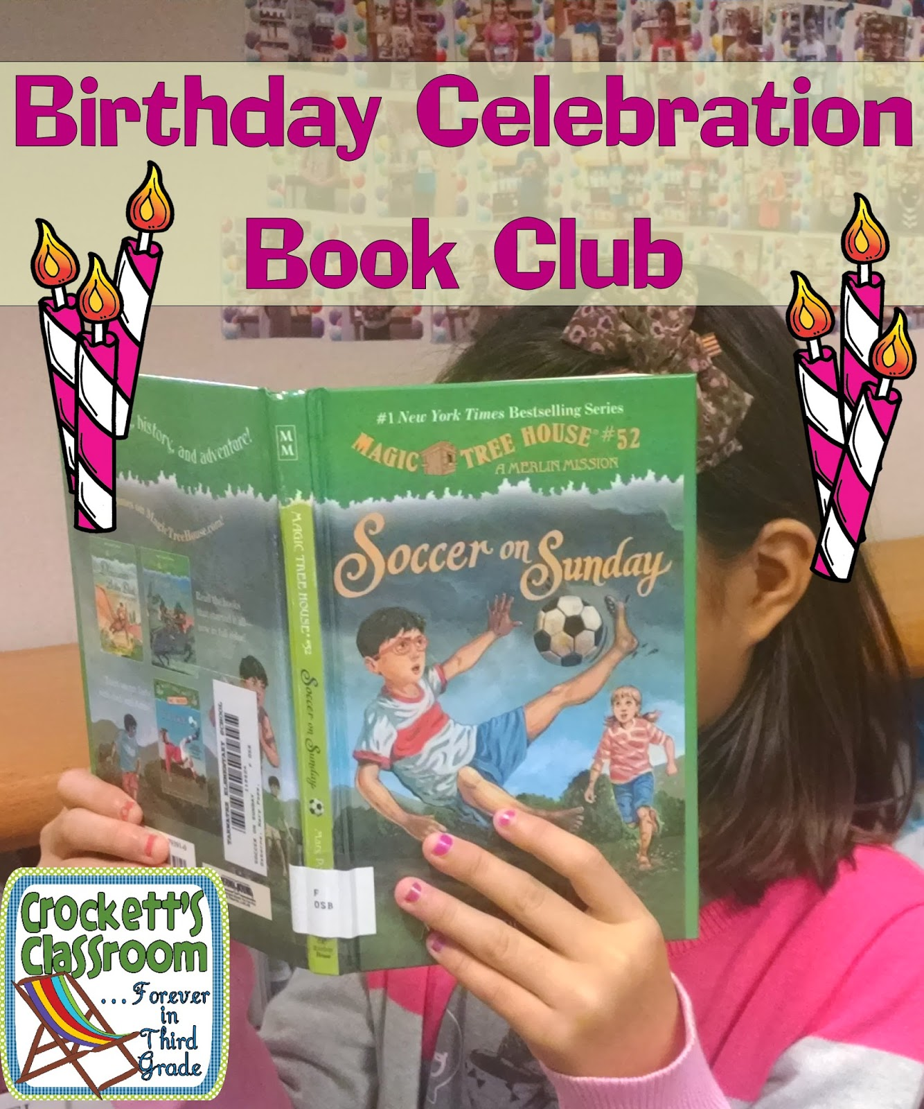Birthday book club, this is a great way for kids to celebrate their birthday and add books to your library!