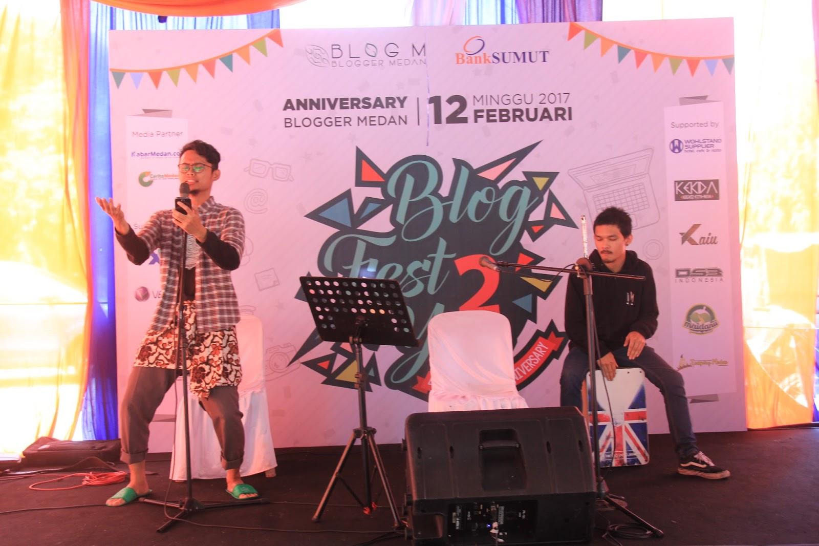 blogfest 2 you, sebuah cerita di tahun ke2 blogger medan