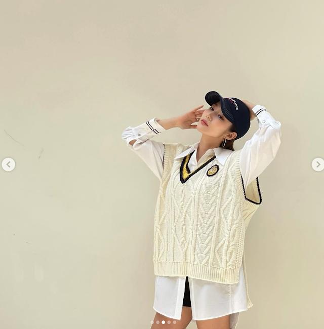 속바지 보이는 하의실종 패션 선보인 연예인
