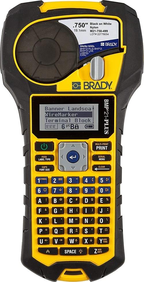 Review Brady BMP21-PLUS Handheld Label Printer