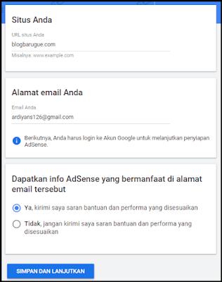 Cara Daftar Adsense Blog Mudah dan Cepat