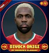 Divock Origi Face V.4 (Last new look) Liverpool FC Player - PES 2017