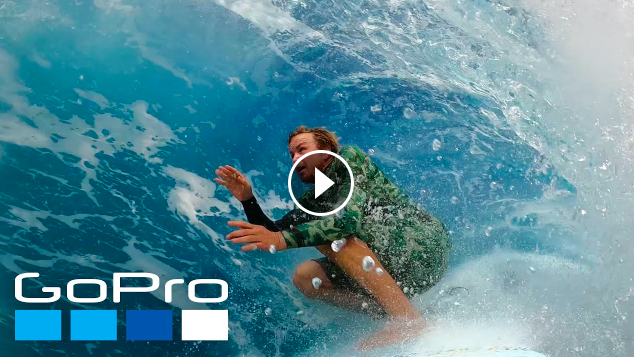 GoPro Getting Barreled in Hawaii with Jamie O Brien