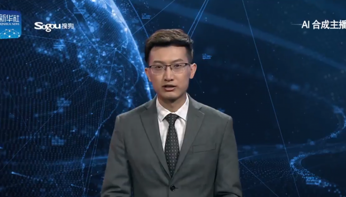 China's first Artificial Intelligence Anchor