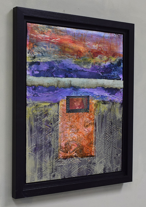 abstract painting by Santa Fe artist Sandra Duran Wilson