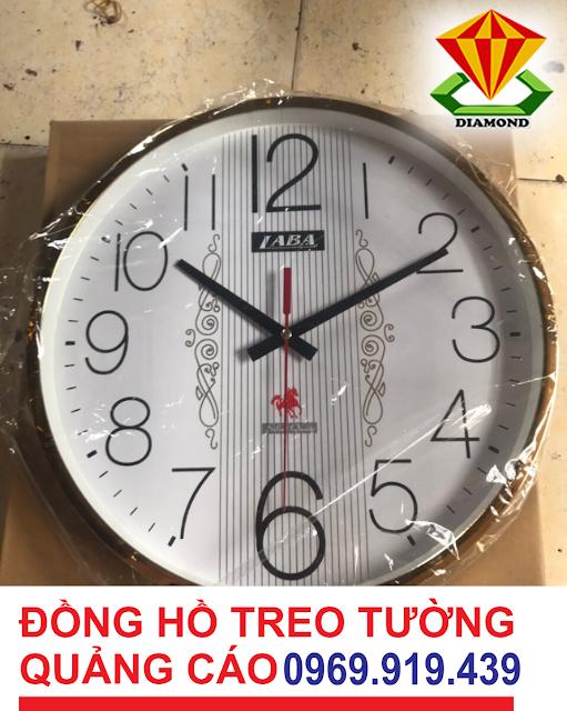 Nhận in đồng hồ hợp đồng quảng cáo, đồng hồ treo tường, in đồng hồ treo tường giá rẻ tại An Giang
