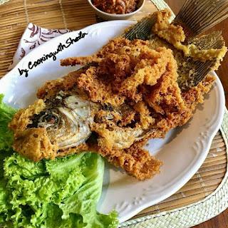 Ide Resep Masak Ikan Gurameh Goreng Kremesan
