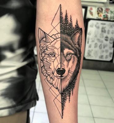 Tatuajes de Lobo