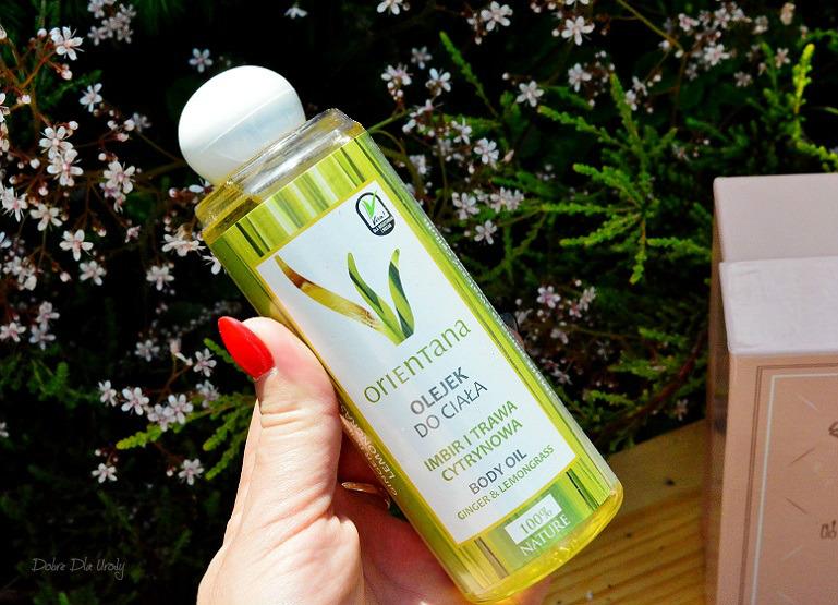 Orientana Naturalny olejek do ciała imbir i trawa cytrynowa ShinyBox