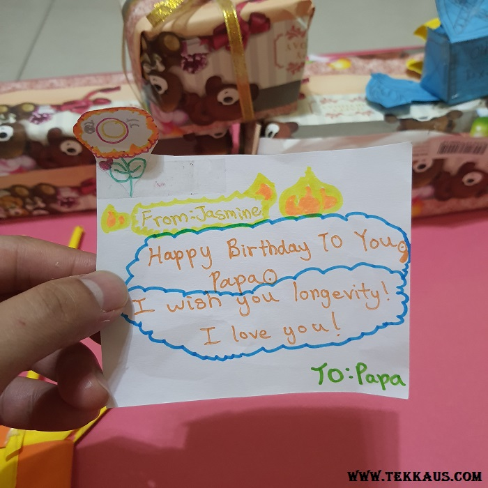 Birthday Crafts and Cards Made By My Children
