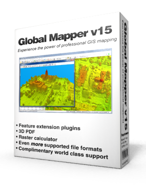 global mapper 15 gratuitement avec crack