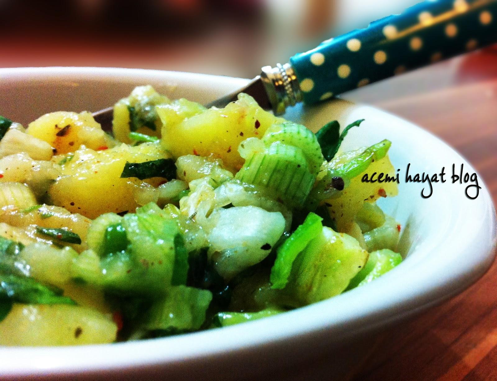 Nane Soslu Yaz Salatası Tarifi – Salata Tarifleri