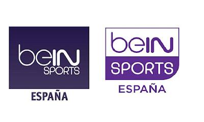 Antiguo y Nuevo logo de BeinSports