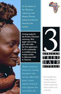 Three African Tribes Hair Ceremonies Traditions and Rituals
