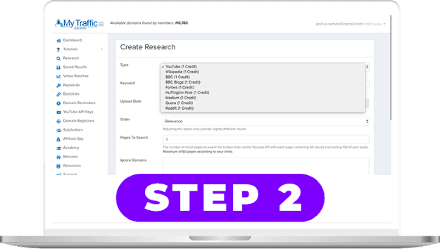 How to work my traffic jacker step 2 and mytrafficjacker 2.0 review