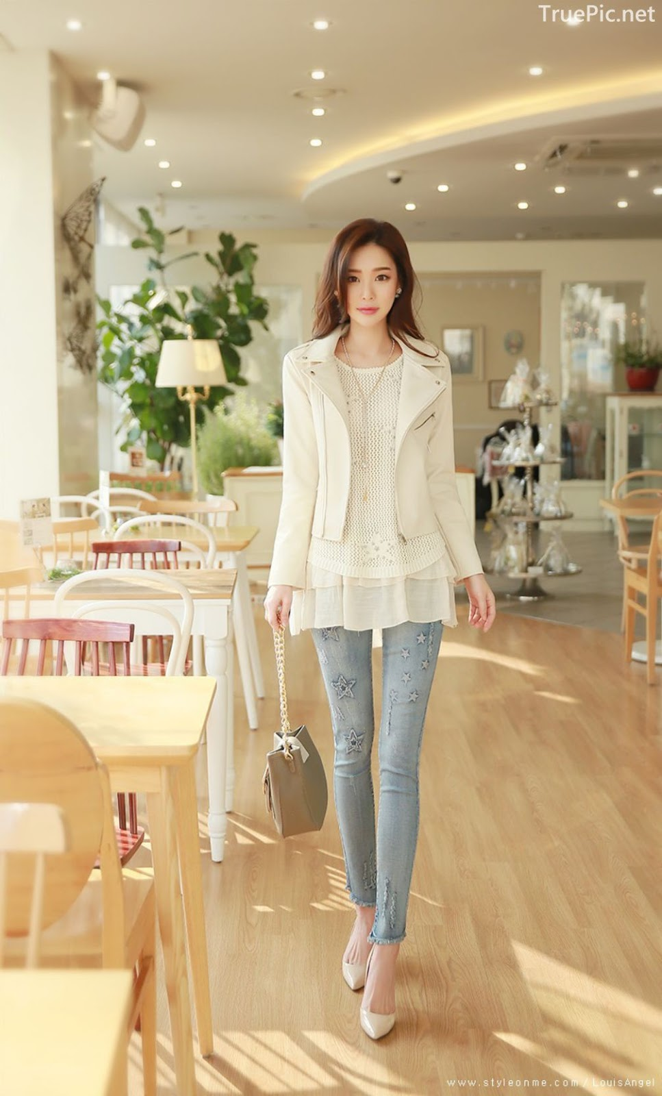 Korean Fashion Model - Park Da Hyun - Indoor Photoshoot Collection - TruePic.net - Picture 10