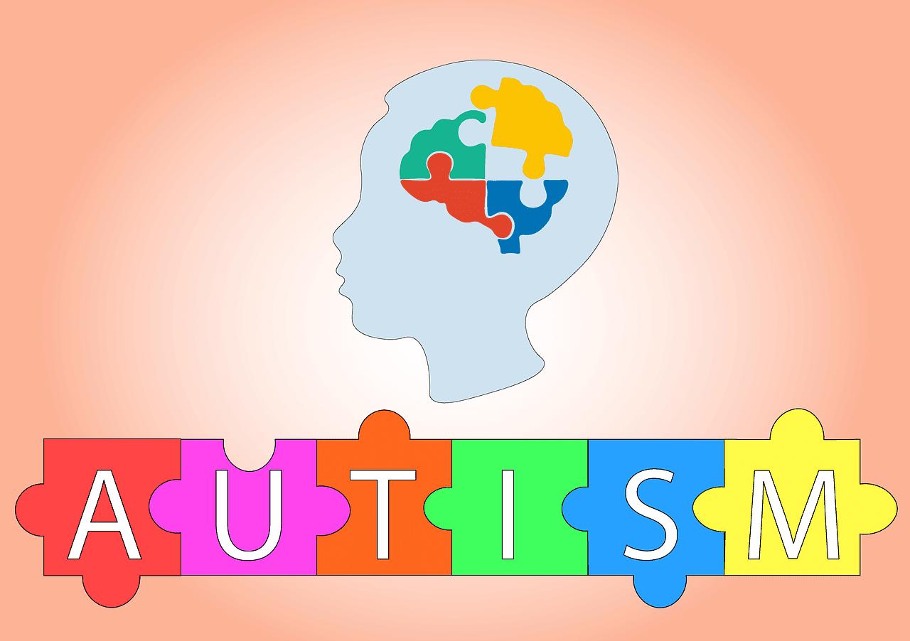 Puzzle símbolo del espectro autista