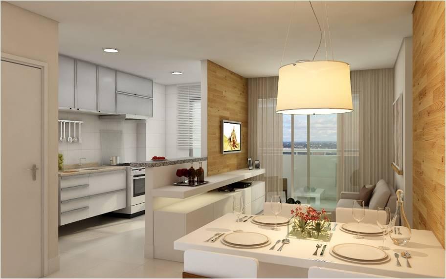Cozinha americana em casas ou apartamentos pequenos - Armarios para sala de estar ...