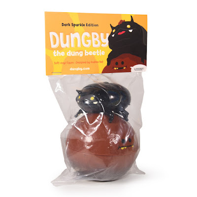 Dungby & Pooba Dark Sparkle Edition Soft Vinyl Figures by Andrew Bell