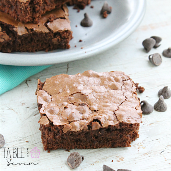 Fat Free Chocolate Brownies #SecretRecipeClub