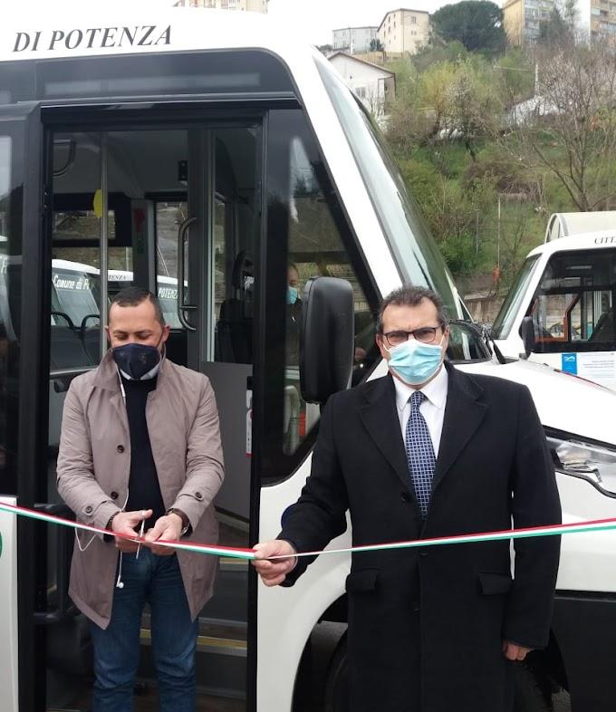 Tpl. 23 nuovi mezzi nella città di Potenza