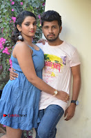 Khayyum, Gourav, Madhulagna Das, Athiya, Sekhar at Chandra Danger Love Story Press Meet  0008.jpg
