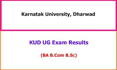 Karnatak University UG Exam Results